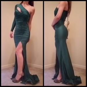 Sexy bodycon formal dress 0